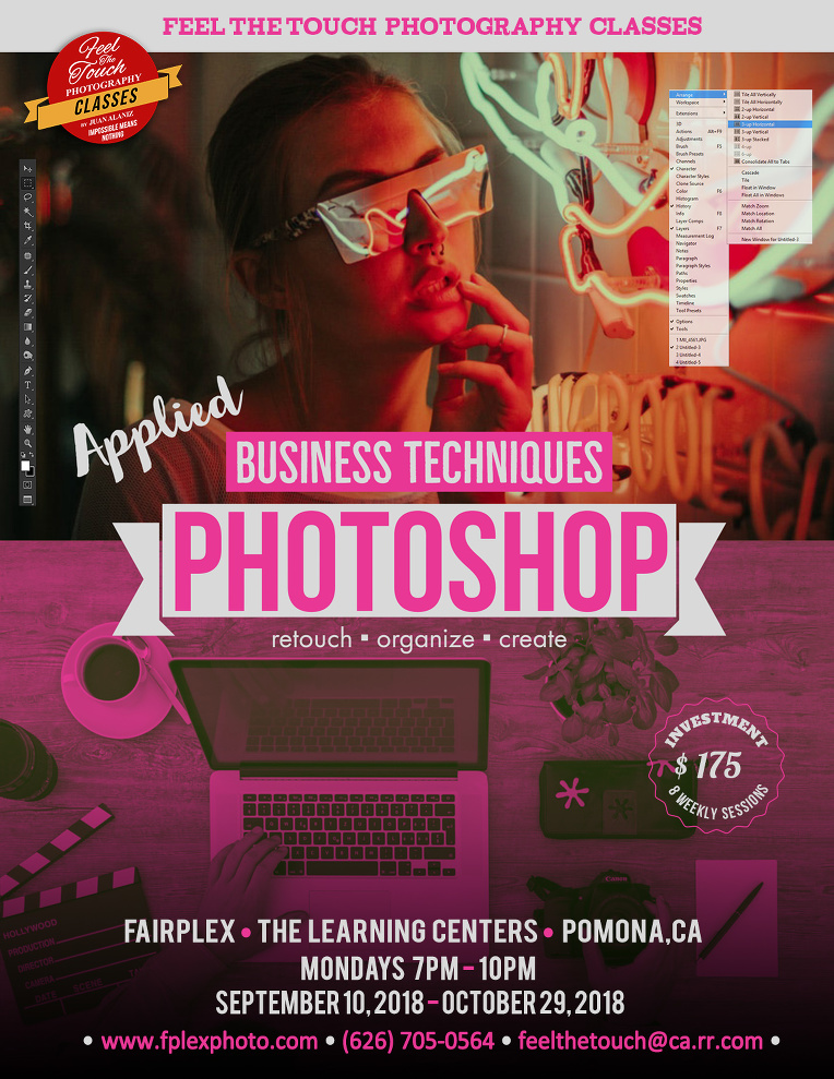 Photoshop – Business Techniques » Feel the Touch Photography Classes